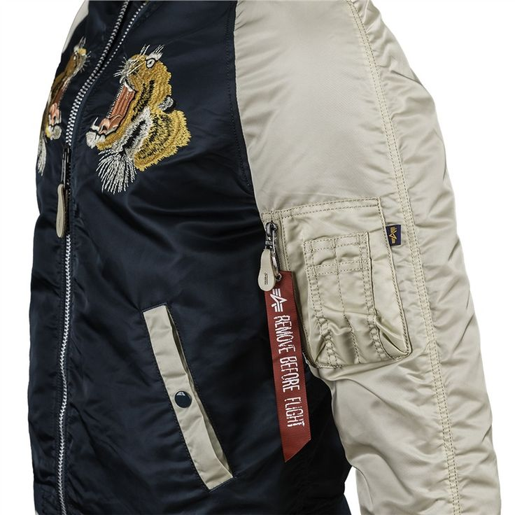 MA-1 Souvenir Tiger Flight Jacket