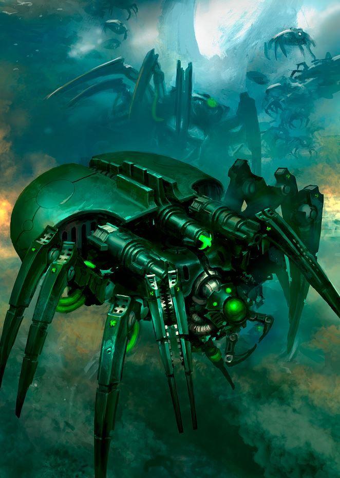 Canoptek Horrors of Necron (The Spyder) by kokoda39 on DeviantArt