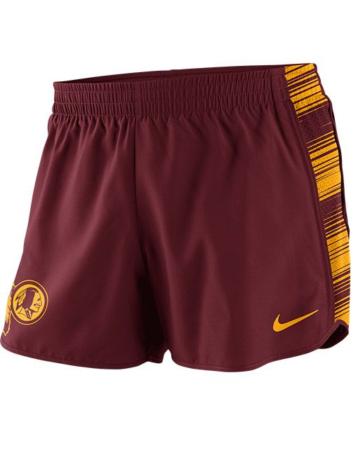 Ladies Nike Redskins Warpseed Shorts | Ladies Redskins Apparel for Women at RedskinsTeamStore.com