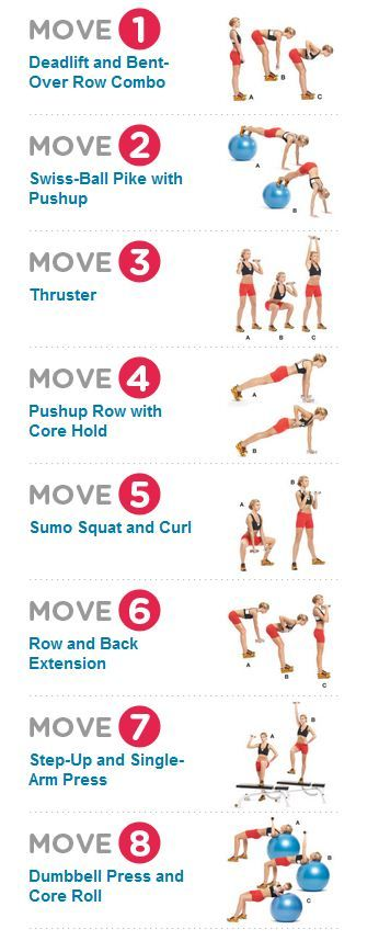 More bang for your buck two in one toners by women's health mag - http://www.womenshealthmag.com/fitness/deadlift-and-bent-over-row-combo?workout=16035