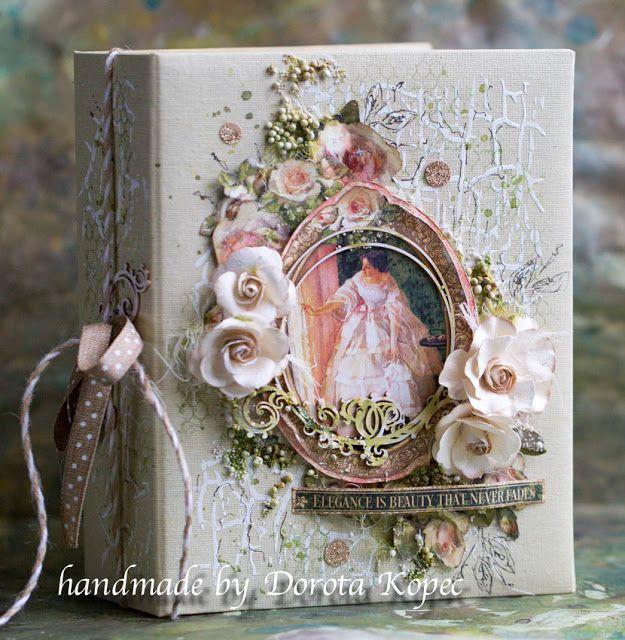 Cudowna kolekcja skradla moje serce :)Przedstawiam.... Portrait of a Lady - Graphic45   Serdeczne pozdrowienia,Dorota