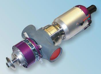 JetCat SPT5 turboprop using a P60 turbine