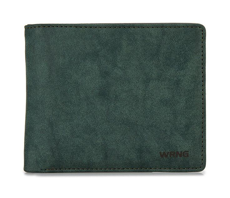 Kerley Wallet by Warning Clothing. Classic design wallet, bi-fold wallet with gradation accent with dark green color, cash compartment, id card and card slots, signature logo, perfect wallet for everyday use.  http://www.zocko.com/z/JIimt