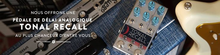 Sign up and win the Concours Matos: Pédale De Délai Analogique Tonal Recall on Reverb.com!