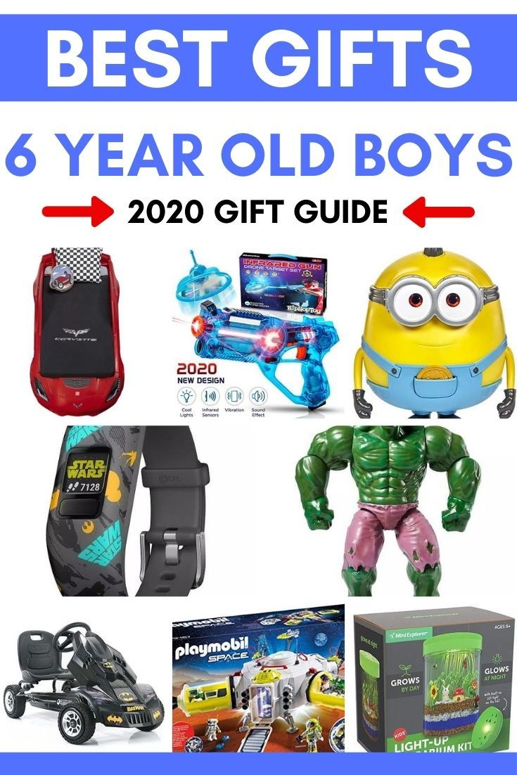 Best Toys Gifts For 6 Year Old Boys 2020 Absolute Christmas In 2020 6 Year Old Toys 6 Year Old Boy Best Gifts For Boys