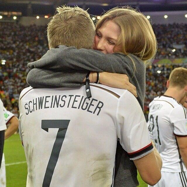 Sarah Brandner - Bastian Schweinsteiger. Been together since 2007, love them together!
