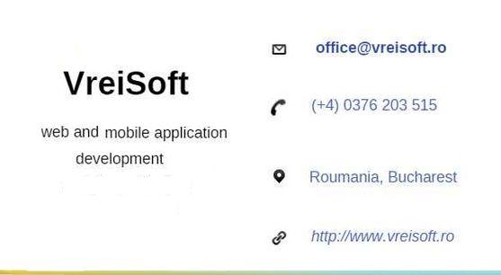 VreiSoft presentation