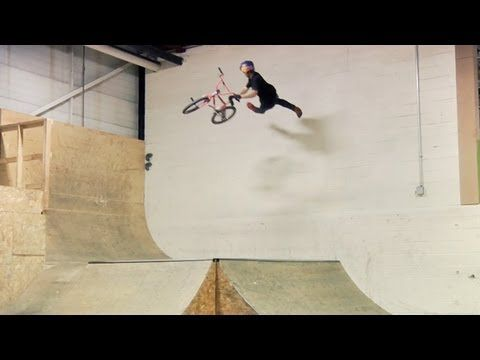 Craziest BMX video ever, and I usually don't like bmx videos. Drew Bezanson vs Joyride 150