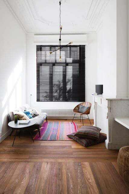 #interiorarchitecture black blinds