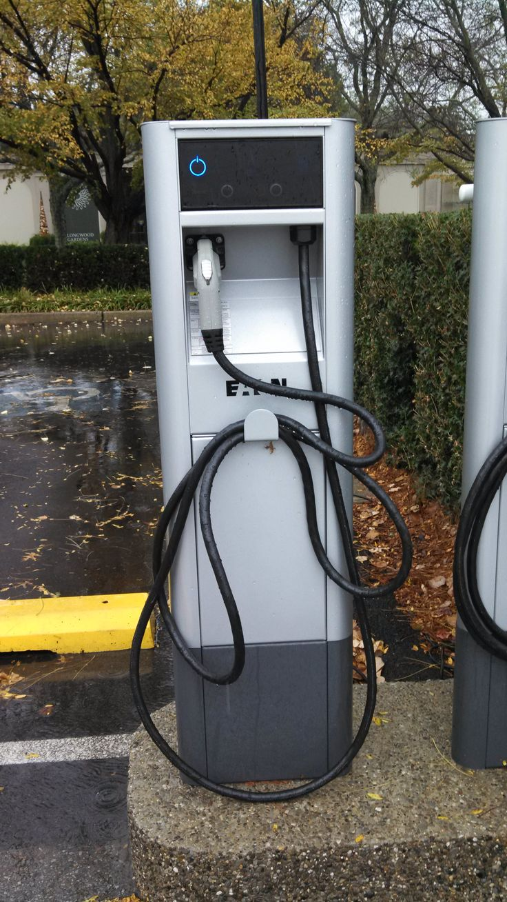 Electric Car Charging Station at Longwood Gardens!