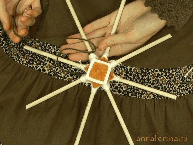 Плетение Мандалы. Комментарии : LiveInternet - Российский Сервис Онлайн-Дневников