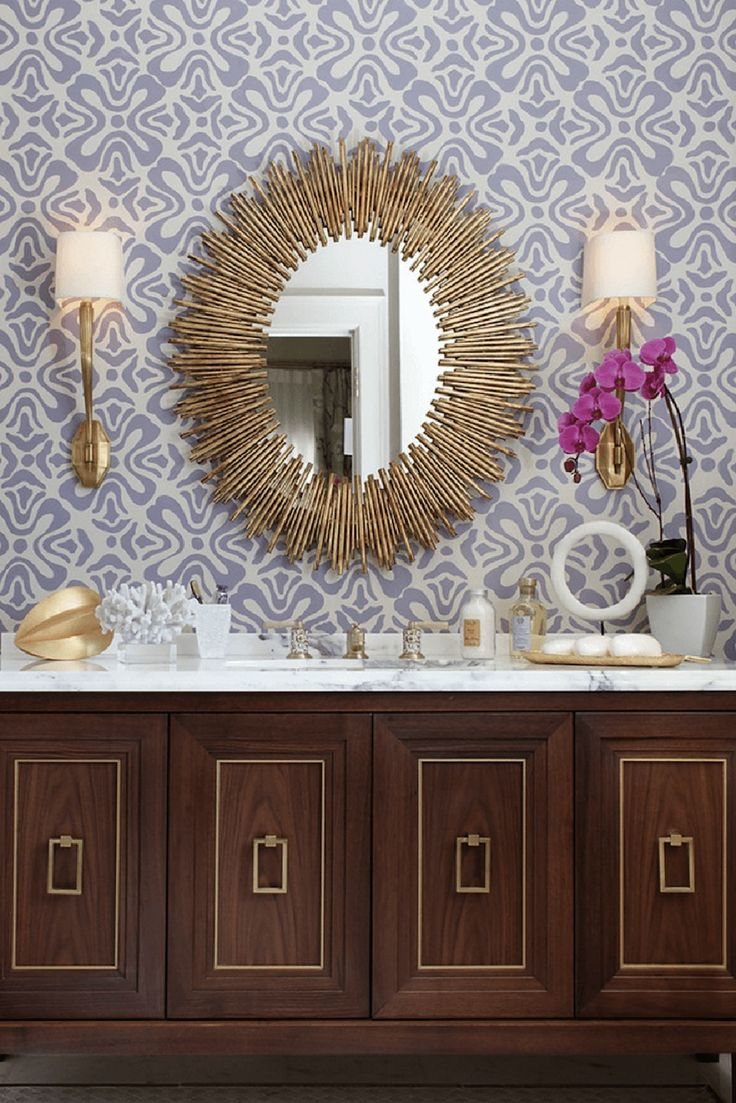 7 Amazing Bathroom Mirror Ideas to Reflect Your Style ➤ Discover the season's newest designs and inspirations. Visit us at http://www.wallmirrors.eu #wallmirrors #wallmirrorideas #uniquemirrors @WallMirrorsBlog