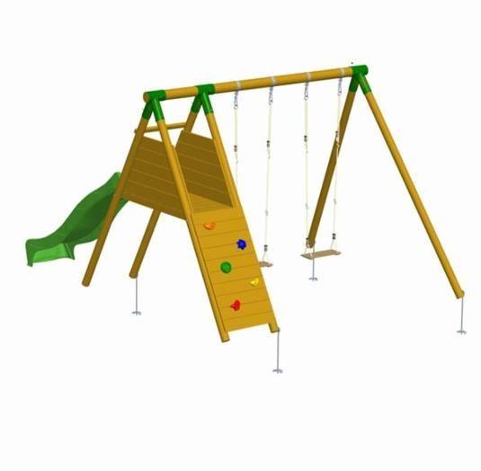 columpio de madera parque infantil mauna loa rampa ma tienda de