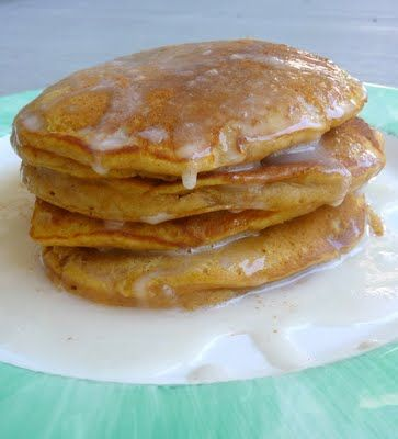 PUMPKIN PANCAKES:  if anything like the ones at IHOP it is worth trying; serve w/cinnamon syrup.