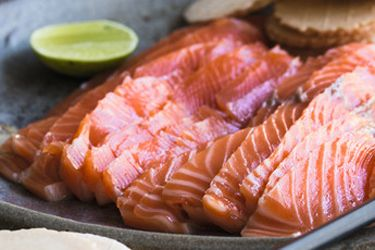 Lime and basil cured trout gravlax recipe, Herald on Sunday – If you're lucky enough to have caught or have been given a fresh rainbow trout this is a must-try recipe, although it is equally delicious with salmon. – foodhub.co.nz