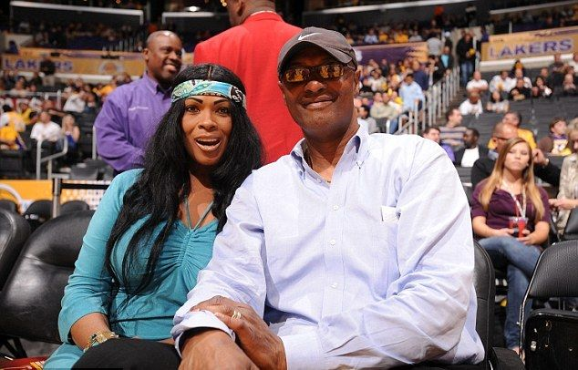 Kobe Bryant's family - parents