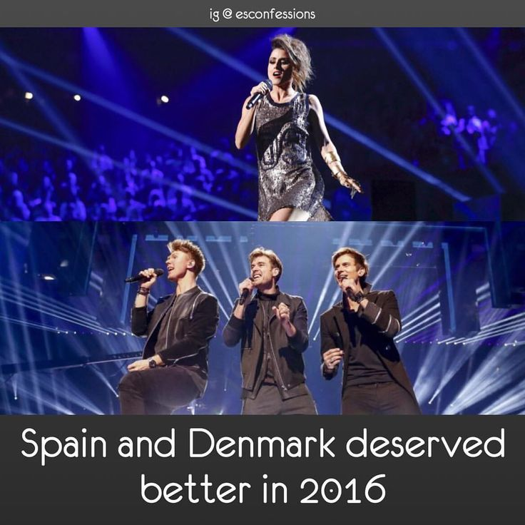 #escspain #spain #barei #escdenmark #denmark #lighthousex #esc2016 #eurovision2016 #eurovision #eurovisionsongcontest • Admin's opinion: Denmark deserved a better result in the semi final but Spain got a completely deserved ranking