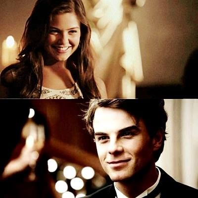AU : Kol asks Davina for a dance at one of Klaus& party. Kol : Will you grant me the pleasure to dance with me, love? Davina : Im not sure your brother will be pleased by that& help; Kol : Who cares? Hes not the one I asked to dance with me. Davina : *chuckle* Then, let;s dance. Plus, to see how upset he is will help me enjoy this annoying party. Kol : *taking her hand*;m increasingly becoming fond of you, little witch.