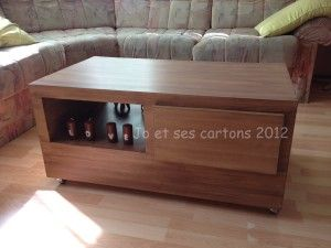 419 best images about meubles en carton on pinterest diy cardboard cardboard rocket and furniture - Tuto meuble en carton ...
