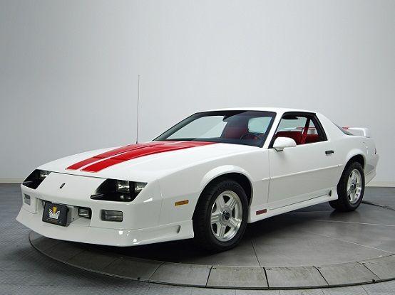 "Chevrolet Camaro Z28 ""25th Anniversary"" Heritage Edition (1992). Rob buy me this!!!"
