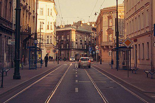 #Straat in #Krakau #Polen #reizen #stedentrip #TravelBird