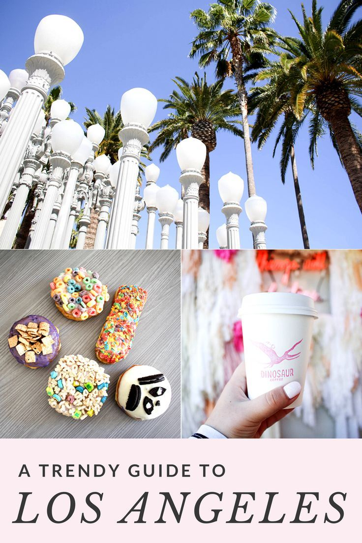 Los Angeles is a big place, so follow this guide to see where the best places to go are. It's a trendy guide, so you'll have lots of Insta-worthy photos after your Los Angeles trip!