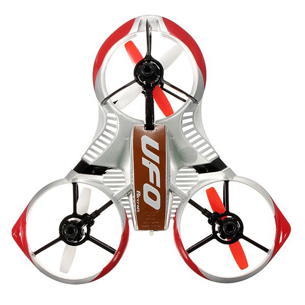 HUAWEI 3195 3220 2.4G 4Ch 6 Axis RC Tricopter UFO With Gyro RTF