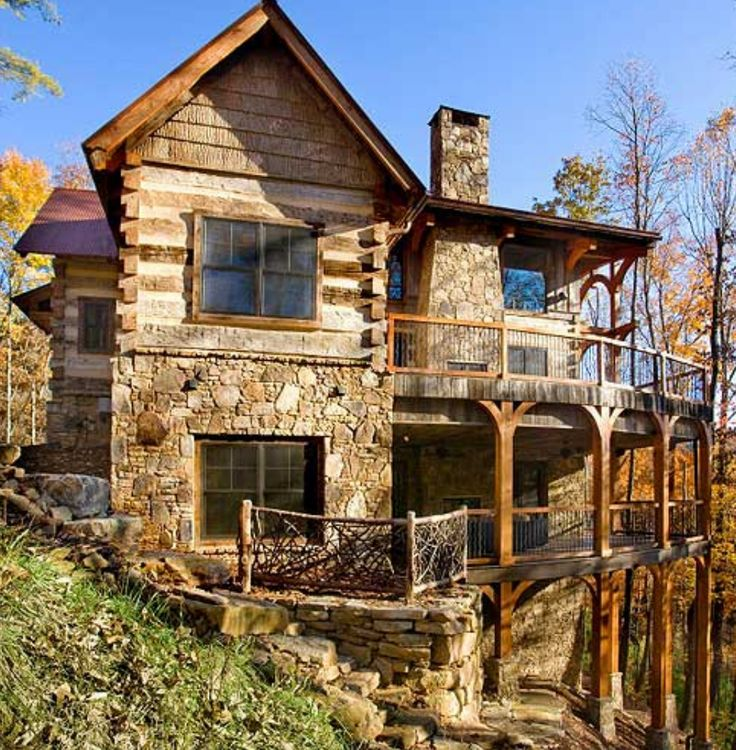 Pin de omar rios en caba as pinterest caba as casas y for 5 structural types of log homes