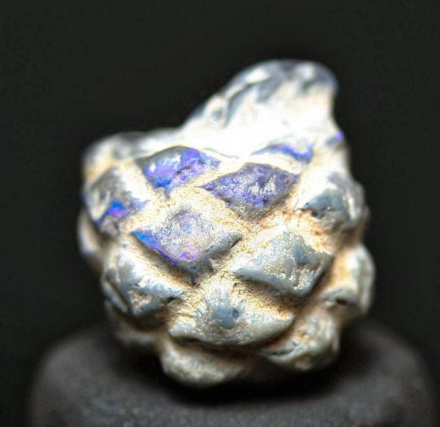 Opalized pine cone