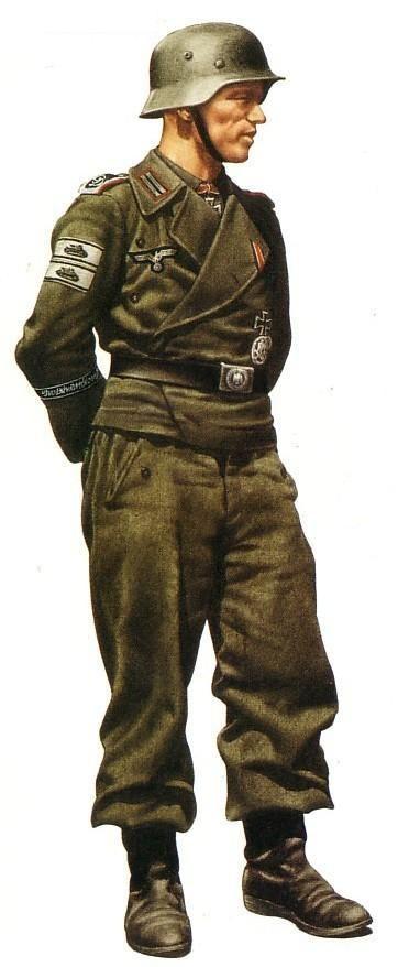 Uniformes Militares Alemanes de la Segunda Guerra Mundial                                                                                                                                                                                 Más