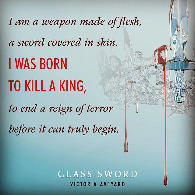 Glass Sword quote, I can't wait to read this book!