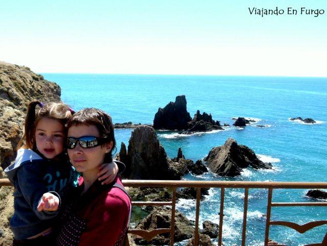 Cabo de Gata con niños