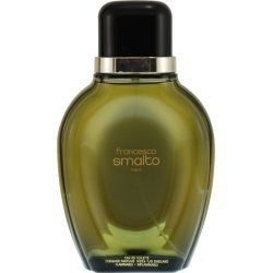 FRANCESCO SMALTO by Francesco Smalto for MEN: EDT SPRAY 3.3 OZ (UNBOXED) by FRANCESCO SMALTO. $31.00. Recommended Use: casual. Fragrance Notes: fresh spices, with low notes of wood, moss, tonka and amber.. Design House: Francesco Smalto. FRANCESCO SMALTO by Francesco Smalto for MEN EDT SPRAY 3.3 OZ (UNBOXED) Launched by the design house of Francesco Smalto in 1987, FRANCESCO SMALTO by Francesco Smalto possesses a blend of fresh spices, with low notes of wood, moss, tonka and ambe...