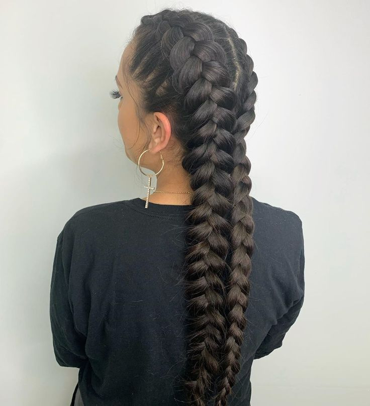 Another look at these boxer braids! Can you see th…