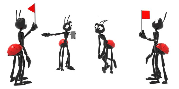 ants for film animation