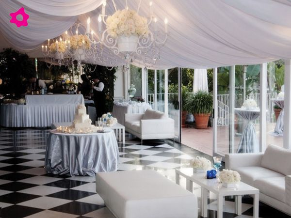 Best 25 salones para bodas ideas on pinterest for Decoracion con telas