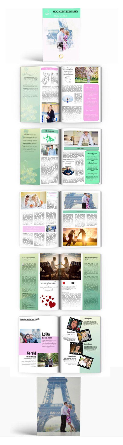 vorlagen fr hochzeitszeitung einfach mit publisher umsetzen - Hochzeitszeitung Beispiele Pdf