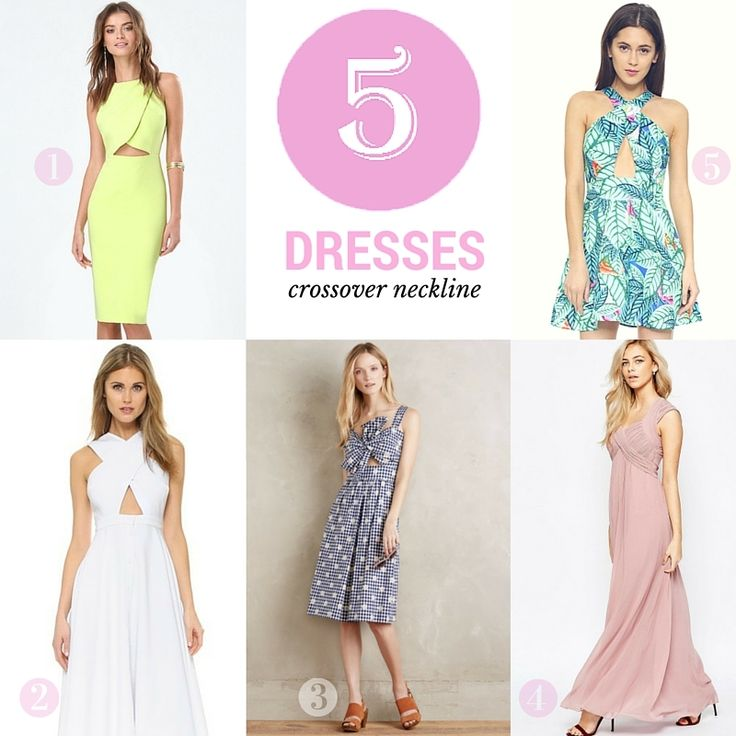 Friday Five: Crossover Dresses http://stylesprinter.com/friday-five-crossover-dresses/ #dresses #trendalert #FF