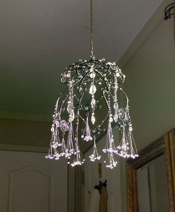412 Best Dollhouse Wire Chandalier & Wire Birdcages Images