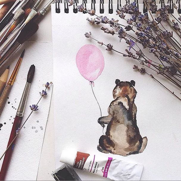 11 Watercolor Accounts you need to follow on Instagram