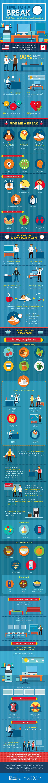 Een heleboel tips om de productiviteit op de werkplek te verbeteren in deze handige infographic!