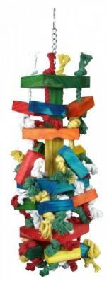 Tolles Vogelspielzeug HAPPYBIRDY zum Knabbern und Klettern. Ihr Vogel wird es sicher lieben.