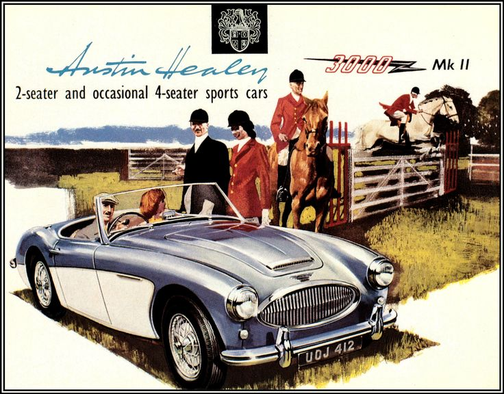 46 best Austin-Healey Car Ads images on Pinterest | Austin healey ...