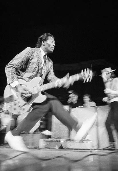 Chuck Berry 1969, Royal Albert Hall, duck walk. Loved watching him do this while swinging that guitar!