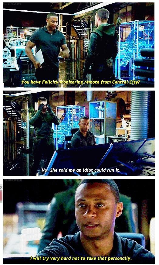 Arrow - Oliver and Diggle #3.4 #Season3 <3