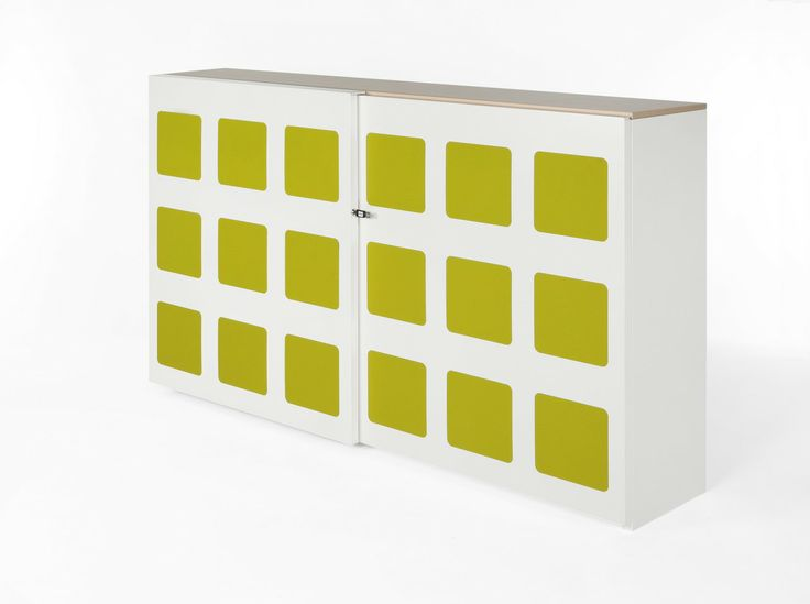 The new Drentea acoustic cupboard with sliding doors, great design and very practical as well.