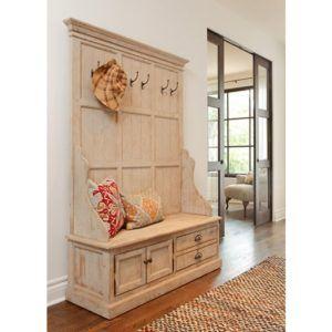 Front Entry Storage Benches