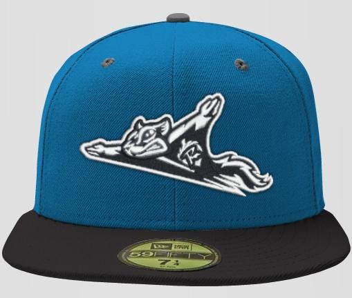 New Era Custom Minor League Baseball Hat- Richmond Flying Squirrel ... b7058509562
