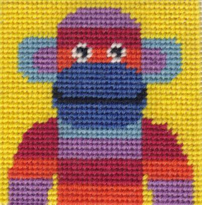 Mini Monkey Starter Tapestry Kit