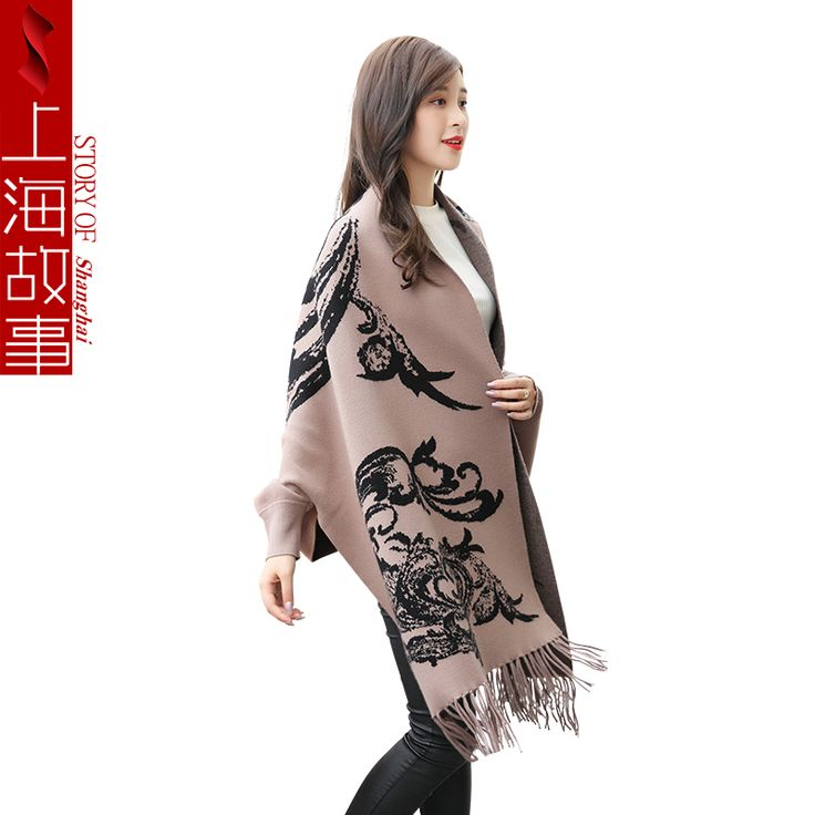 Best 25+ Poncho sweater with sleeves ideas on Pinterest | Poncho ...